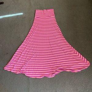 LuLaRoe striped maxi